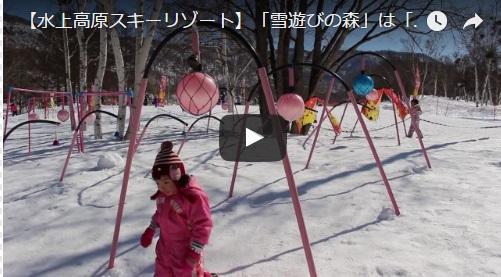 動画キャプチャ雪遊び