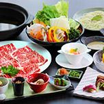 【滞在中有効リフト券付】「上州牛のしゃぶしゃぶ和膳」こだわりのご夕食をゆっくり味わう 1泊2食