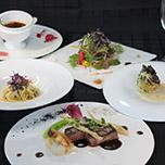 【リフト券なし】ご夕食「みなかみイタリアン」 を最上階のレストランから雪景色とともに堪能♪ 1泊2食