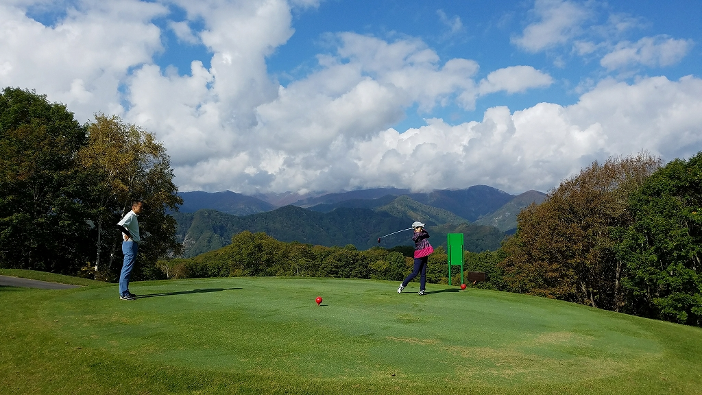 20181009水上高原ゴルフコース スカイコース (3)