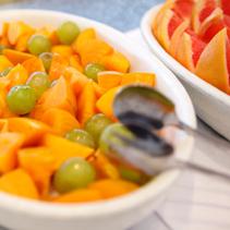 フルーツも盛りだくさん!
